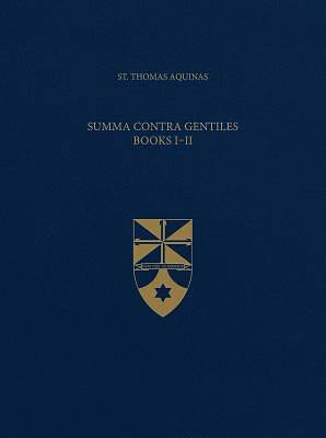 Picture of Summa Contra Gentiles, Books I & II (Latin-English Opera Omnia)