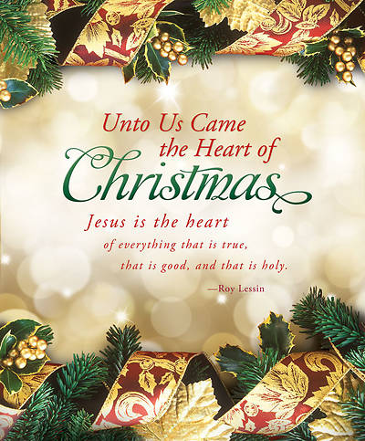 Christmas Bulletin - Unto Us Came the Heart of Christmas Large (Package of 100)