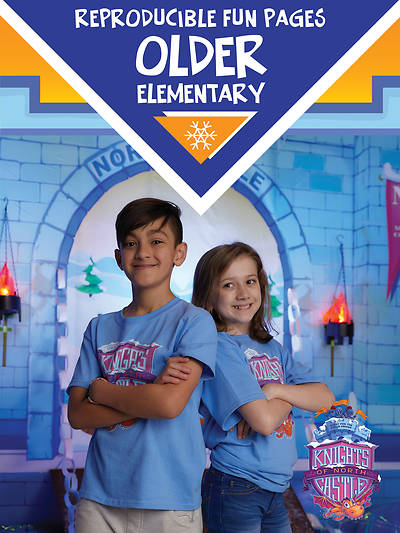 Vacation Bible School (VBS) 2020 Knights of North Castle Older Elem Reproducible Fun Pages (Grades 3 & Up)
