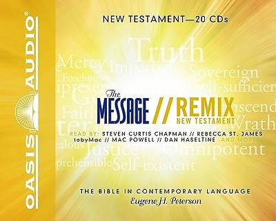 The Message Remix: The New Testament CD