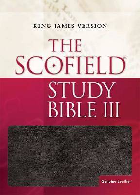 King James Version Scofield Study Bible III