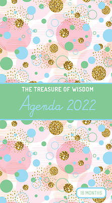 Picture of The Treasure of Wisdom - 2022 Pocket Planner - Bubbles and Gold - Green