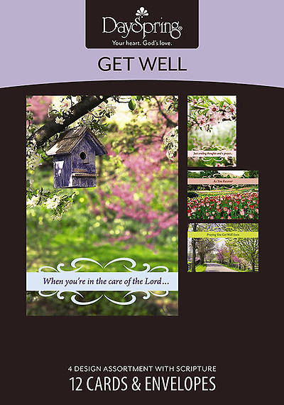 Springtime - Get Well Boxed Cards - Box of 12