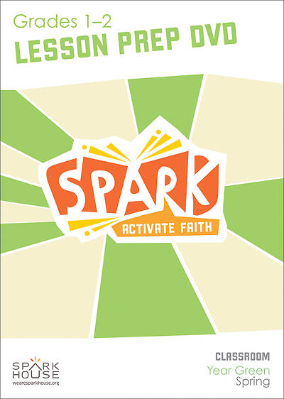 Spark Classroom Grades 1-2 Preparation DVD Spring Year Green