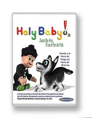 Holy Baby! Volume 2 Jesus Loves Me, He Is the Bread of Life on DVD Spanish Edition