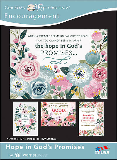 Picture of Hope in God's Promises Encouragement Boxed Cards