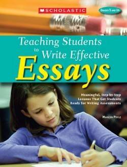teaching writing college application essay