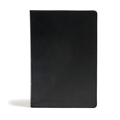 Picture of CSB Super Giant Print Reference Bible, Black Leathertouch