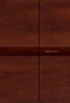 Picture of Rvr 1960 Biblia Letra Gigante Marron, Simil Piel Con Indice y Cierre