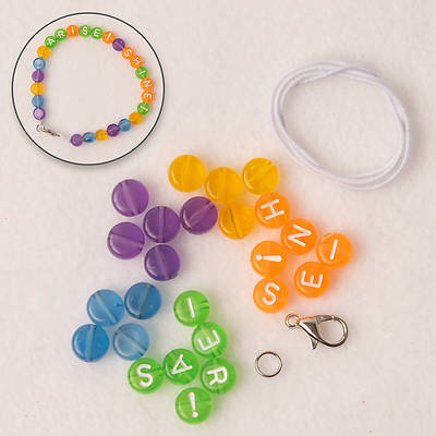 Picture of Vacation Bible School (VBS) 2021 Discovery on Adventure Island Arise! Shine! Bracelet Kit (Pkg of 12)