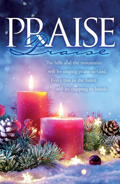 Picture of Advent Praise Week 5 Bulletin Regular
