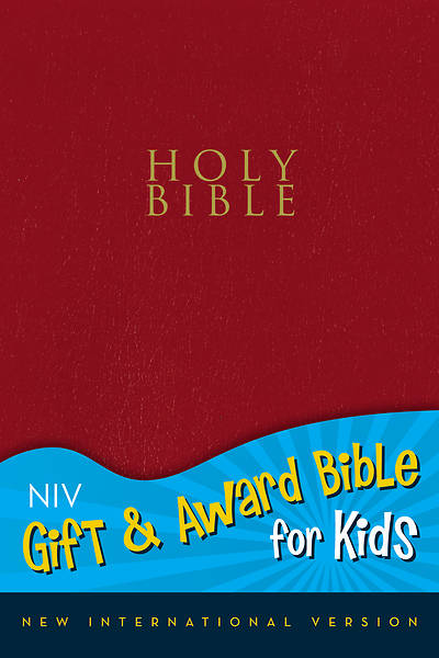 Gift and Award Bible for Kids NIV (Red Imitation Leather)
