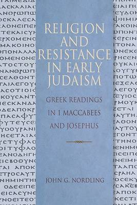 Picture of Religion and Resistance in Early Judaism