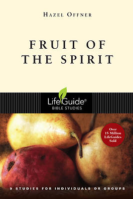 Picture of LifeGuide Bible Study - Fruit of the Spirit