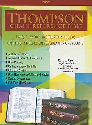 Thompson Chain Reference Bible-KJV-Large Print