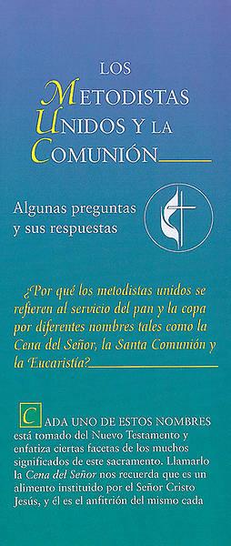 Picture of Los Metodistas Unidos y la Comunion - folleto electronico
