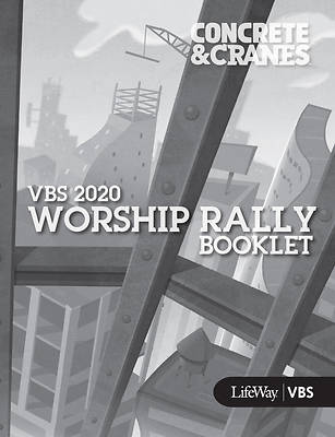 Picture of Vacation Bible School (VBS) 2020 Concrete and Cranes Worship Rally Booklet Pkg 25