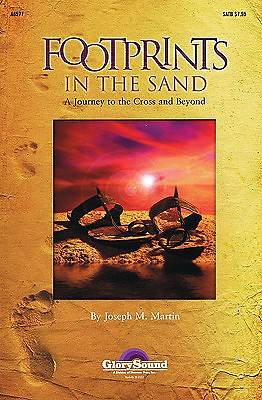 Footprints in the Sand; A Journey to the Cross and Beyond