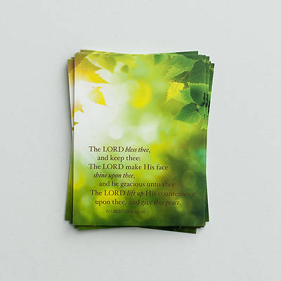 Picture of Note Cards - The Lord Bless Thee - Pkg of 10