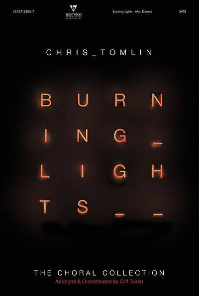 Picture of Burning Lights Rhythm/Chord Charts CD-ROM