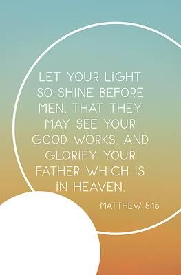 Picture of Light So Shine Bulletin (Pkg 100) Legacy