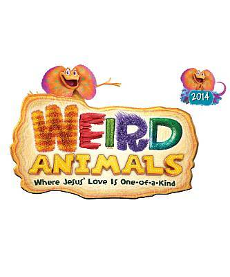 Group VBS 2014 Weird Animals Iron-On Transfers (Package of 10)