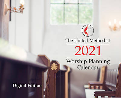 Picture of The United Methodist Worship Planning Calendar 2021, Digital version