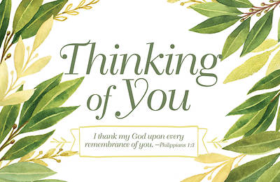 Picture of Thinking of You General Postcard