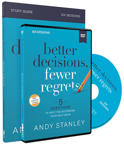 Picture of Better Decisions, Fewer Regrets Study Guide with DVD