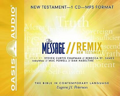 Message Remix New Testament-MS