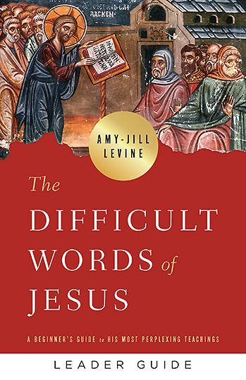 Picture of The Difficult Words of Jesus Leader Guide