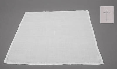Picture of Cambric Linen Corporal with Latin Cross - Pack of 3
