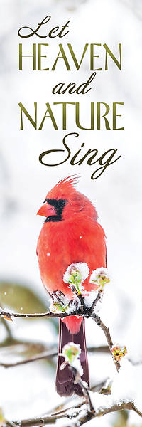 Picture of Let Heaven and Nature Sing Christmas Bookmark