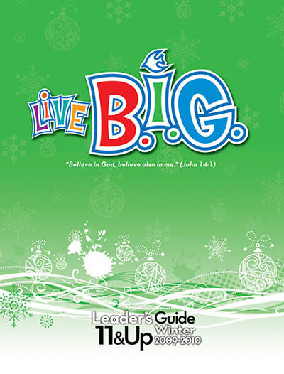 Picture of Live B.I.G. Tween Leader's Guide Winter - Download
