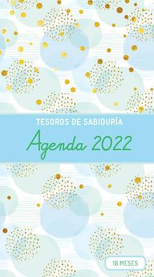 Picture of 2022 Planificador - Tesoros de Sabiduría - Burbujas Y Oro - Azul