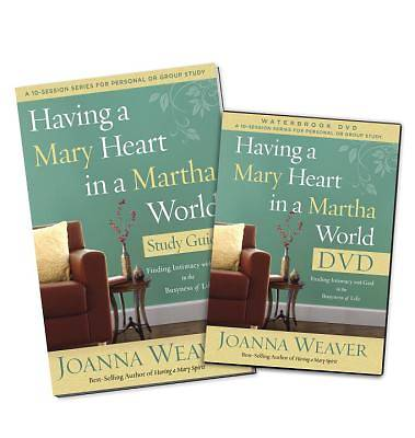 Picture of Having a Mary Heart in a Martha World DVD Study Pack