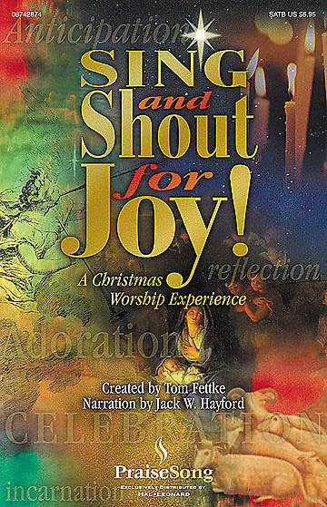 Sing and Shout for Joy Choral Book
