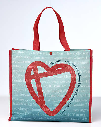 Shaping Hearts, Changing Lives Reusable Tote Bag