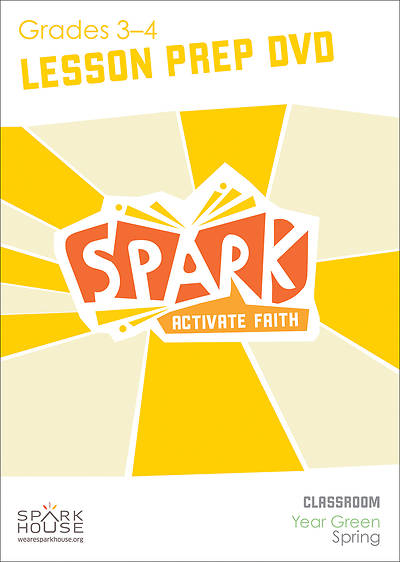 Spark Classroom Grades 3-4 Preparation DVD Spring Year Green