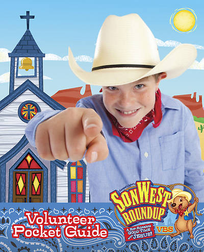 Gospel Light Vacation Bible School 2013 SonWest RoundUp Volunteer Pocket Guide (pkg 10)