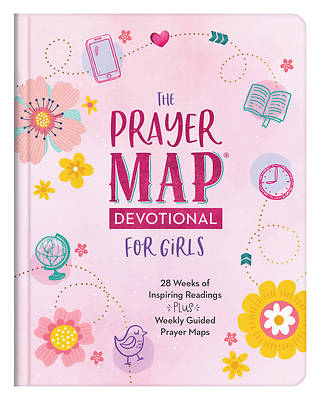 Picture of The Prayer Map Devotional for Girls