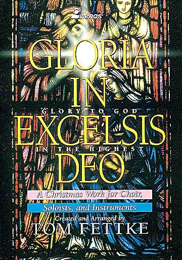 Gloria in Excelsis Deo; Christmas Music Choral Book