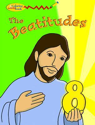 The Beatitudes Coloring & Activity Book