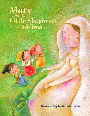 Picture of Mary and the Little Shepherds of Fatima