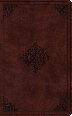 ESV Vest Pocket New Testament with Psalms and Proverbs (Trutone, Burgundy, Ornament Design)