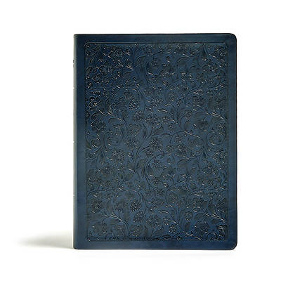 Picture of CSB Life Connections Study Bible, Navy Leathertouch