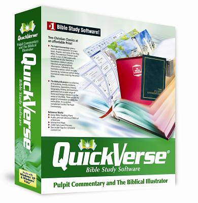 QuickVerse Biblical Illustrator and Pulpit Commentary Collection