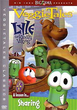 Veggie Tales Lyle the Kindly Viking DVD