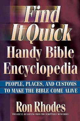 Picture of Find It Quick Handy Bible Encyclopedia