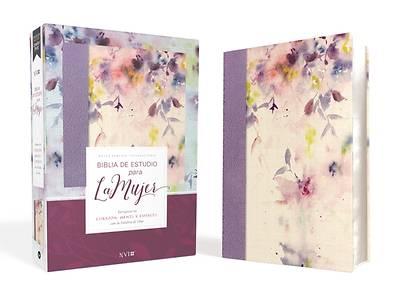 Picture of Biblia de Estudio Para La Mujer Nvi, Leathersoft/Tela Lila